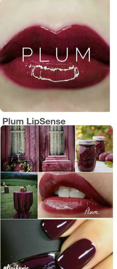 Lipstick: Brand-New Sealed Plum Lipsense By Senegence **Htf** -> BUY IT NOW ONLY: $46.99 on eBay!