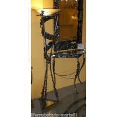 Wrought Iron Floor Lamp. Customize Realizations. 485