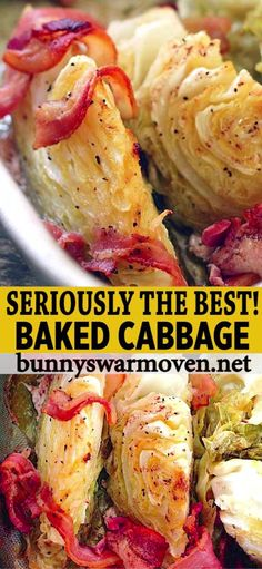 This is a Baked Cabbage recipe you are absolutely going to LOVE. This is a Baked Cabbage recipe you are absolutely going to LOVE. Best Vegetable Recipes, Vegetarian Recipes, Cooking Recipes, Healthy Recipes, Veggie Recipes Sides, Vegetarian Grilling, Vegetarian Appetizers, Healthy Grilling, Cleaning Recipes