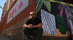 Painter Jonas Wood turns Arata Isozaki's MOCA exterior into building-sized art canvas http://lnk.al/3pmp #artnews