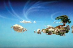 I love Roger Dean's work and especially this one.    Copyright © Roger Dean 2012