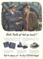 f5fd717a6cafe Stetson Royal Stetson Whippet Hat 1945 Ad Stetson Hats