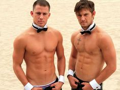 Excuse me....holy hotttttttness Channing and new guy....