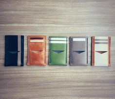 Assorted leather iPhone 5 Wallets