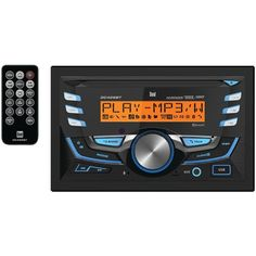 DUAL DC426BT Double-DIN In-Dash CD AM/FM/MP3 Receiver with Bluetooth(R)