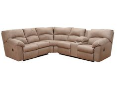 Slumberland | Barton Collection - 2 Pc. Sectional - love everything but the cup holders