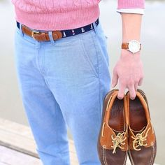 brights and boat shoes