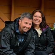 To fotballforeldre Gerhard og Jane