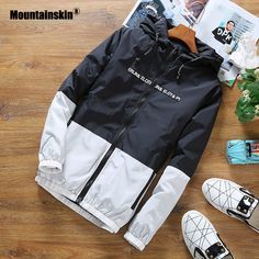 Buy Men's Hooded Jackets Spring Autumn Thin Light Patchwork Outwear at goodexy.com! Free shipping to 185 countries. 45 days money back guarantee.