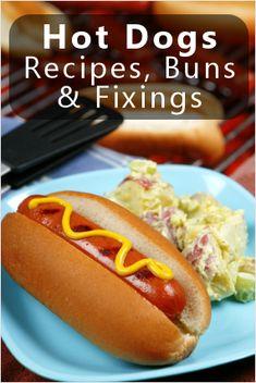 Summer Gourmet: Tempting Hot Dogs & Fixings {Recipes} : TipNut.com