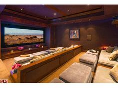 The COOLEST home movie theater. Malibu, CA Coldwell Banker Residential Brokerage