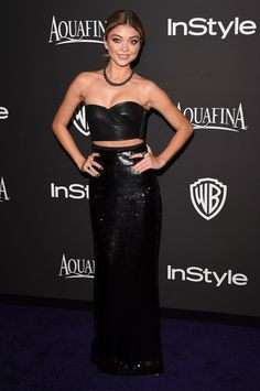 Pin for Later: Sexy Stars Flock to InStyle's Globes Bash Sarah Hyland