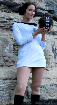 Princess Leia in Classic Star Trek Cosplay - Neatorama