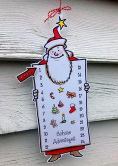 Es ist ja nun nicht mehr lange hin ... und bevor Sie sich in den Einkaufsstress einer Adventskalenderbesorgung begeben müssen: DER SKIZZENBLOG ADVENTSKALENDER! Downloaden, anmalen, ausschneiden. Die einzige Besorgung wäre nur noch eine (kleine) Wäscheklammer und fertig!  Viel Spaß und schöne Zeit!        Zeigen Sie doch mal, wo Ihr Kalender hängt!