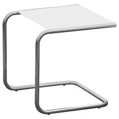 Beistelltisch metall weiß  Tisch Design Beistelltisch Drahtkorb Metall mit Deckel Weiß ...