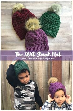 1106 Best Crochet kids Hats images in 2019  daed3339545f