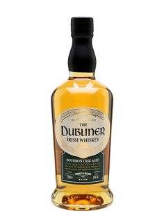 Dubliner Irish Whisky - Bourbon Cask : The Whisky Exchange Irish Whiskey Brands, Scotch Whiskey, Bourbon Whiskey, Rum Bottle, Whiskey Bottle, Irish Drinks, Blended Whisky, Malt Whisky, Wine And Beer
