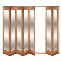 Image of Folding Doors, IFS-7MMAR (Majority open Left or Right) Marston 7 Door Set, Frame & Glass
