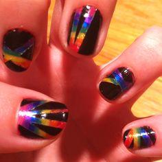 Scratch Magic nails!
