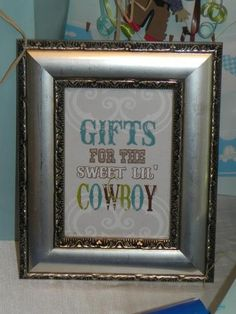 Western/Cowboy Baby Shower Party Ideas | Photo 20 of 43 | Catch My Party