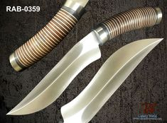 "RaB Cutlery Custom Made Fixed Blade 7.2"" x 1/4"" Thick D2 Tool Steel Blade Knife #RaB"