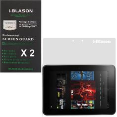 """i-Blason DuroClear Series 2 Pack (1 Matte/ Anti-Glare + 1 Clear) LifeGuard Screen Protectors for Kindle Fire HD 8.9"""" Inch 4G LTE Tablet Dolby Audio Dual Band Wi-Fi Anti Finger Print by i-Blason. $9.95"""
