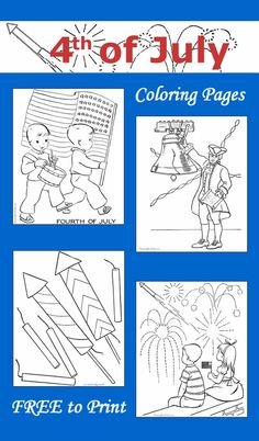 4th of July coloring pages - 15+ FREE printable sheets!