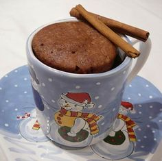 Quick cake in a mug in 3 minutes in a microwave Quick Cake, Hungarian Recipes, Sweet Recipes, Muffin, Food And Drink, Cooking Recipes, Yummy Food, Favorite Recipes, Sweets