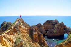 The Algarve is well known for its sunny Mediterranean climate, its beaches & resorts but it's so much more than just that. Here are 5 must-see destinations. Portugal Holidays, Travel Through Europe, Most Beautiful Beaches, Ways To Travel, Fishing Villages, Beach Town, Sandy Beaches, Algarve, Campervan