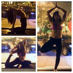 Corepower Yoga after dark #yoga