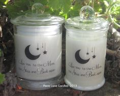 One of our more popular personalised candles  :)