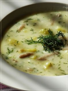 czech recipes Kulajda s hlvou stinou Soup Recipes, Vegetarian Recipes, Cooking Recipes, Healthy Recipes, Modern Food, Good Food, Yummy Food, Czech Recipes, Healthy Comfort Food