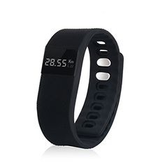 Black Fitness Tracker Smart band Bluetooth 4.0 Wristband Smart Pedometer Bracelet For iPhone Samsung Smartband TW64 PK Fitbit Mi band – Best fitness trackers