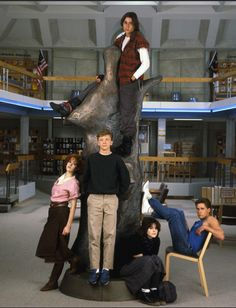 The Breakfast Club - Bender wanted to be the tallest.