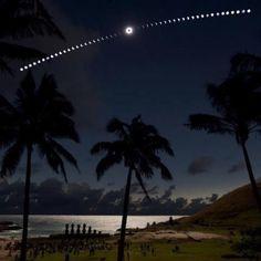 Solar eclipse, November 13