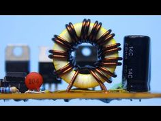 Universal step-up and step-down converter Dc Dc Converter, Electronics Basics, Circuit Diagram, Sustainable Energy, Step Up, Electrical Engineering, Make It Yourself, Youtube, Nye