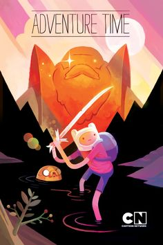 adventure time poster by matthew forsythe