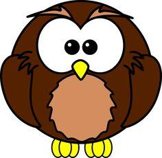 owl with garland by bocian owl with garland open clipart cu rh pinterest com Cartoon Owl at Night Night Owl Cartoon Easy