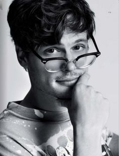 Mathew Gray Gubler (Spencer Reed on Criminal Minds)--- *pulls out hair in frustration of still trying to figure out WHY?*