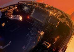 ArtStation - Cockpit cinematic WIP, Tor Frick