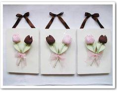 Quadro -Trio de tulipas