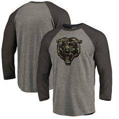 Wisconsin Badgers Fanatics Branded Prestige Big   Tall Raglan Long Sleeve T- Shirt – Heathered Gray. Major League Camo Gear · Chicago Bears Camo Gear 779b7bc10