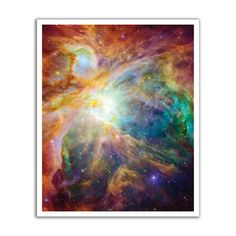 J.P. London Design, Inc. POS2313 uStrip Space Cosmos Nebula Peel and Stick Removable Wall Decal Mural