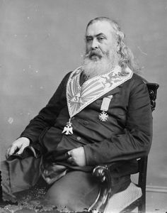 "Albert Pike (December 29, 1809–April 2, 1891) was an attorney, Confederate officer, writer, and Freemason. Pike is the only Confederate military officer or figure to be honored with an outdoor statue in Washington, D.C. (in Judiciary Square) mostly due to his masonic connection with President Andrew Johnson, who pardoned Pike for treason after the American Civil War. Pike is the writer of ""Morals and Dogma of the Ancient Accepted Scottish Rite of Freemasonry"" his magnum opus."