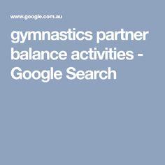 gymnastics partner balance activities - Google Search Partner, Gymnastics, Activities, Google Search, Search, Physical Exercise, Calisthenics, Ejercicio, Physical Education Activities