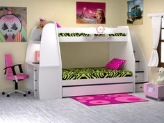 Bedroom:Cool Girls Bunk Bed With Stairs And Desk Bunk Bed With Stairs For The Photo Of Fresh In Interior 2017 Bunk Bed With Desk And Stairs For Girls bunk bed with desk and stairs for girls