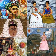 art puzzle by savina.sciacqua Frida Kahlo, Messico, 1907/1954