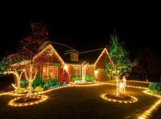 outdoor lighting ideas christmas display rejoice themes space simple at lockideascom