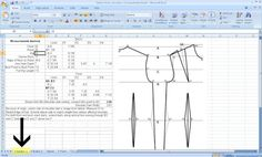 Free Pattern Drafting Calculator for Your Measurements.- Free Pattern Drafting Calculator for Your Measurements. Free Pattern Drafting Calculator for Your Measurements. Sewing Hacks, Sewing Tutorials, Sewing Projects, Dress Tutorials, Coat Patterns, Dress Sewing Patterns, Skirt Patterns, Blouse Patterns, Atelier