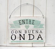 Entre on buena onda Business Design, Ideas Para, Hand Lettering, Diy And Crafts, Sweet Home, Crafty, Painting, Home Decor, House